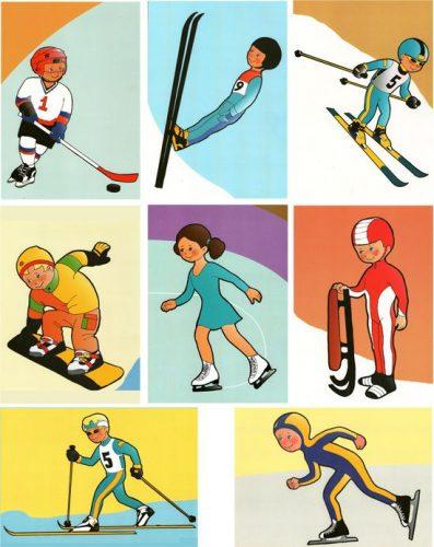 спорт картинки для детей