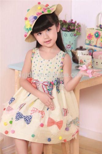 модные платья для девочек для детского сада