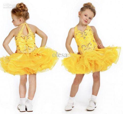 платье для выпускного в детском саду2