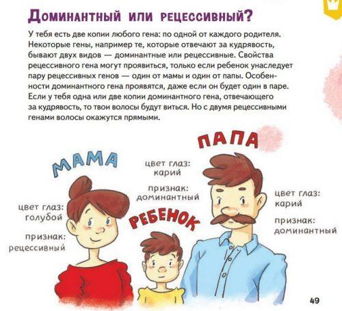 Сам себе ученый страничка из книги про маму и папу