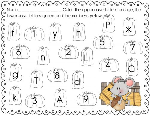 английский алфавит задания для детей5