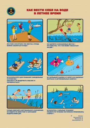 правила безопасности для детей на воде2