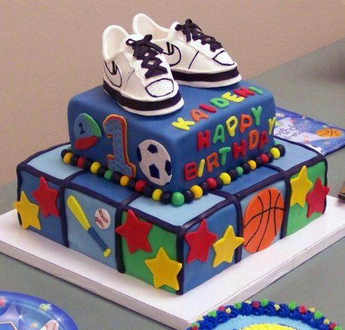 кроссовки торт