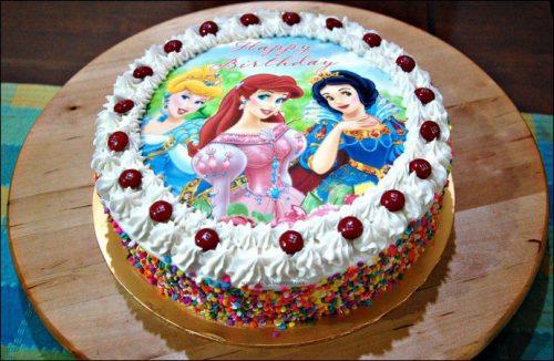 принцессы Диснея торт
