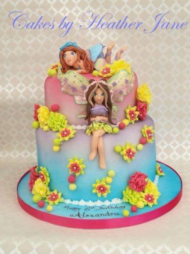 торт винкс1
