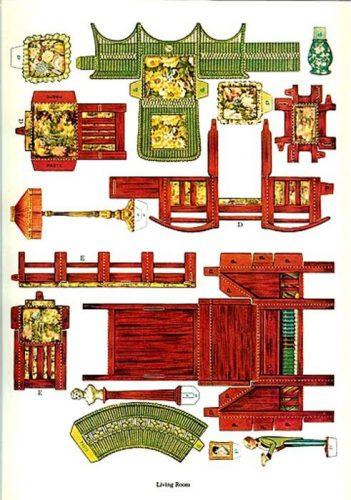 мебель из бумаги2