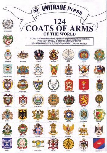 гербы разных стран
