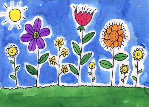 цветы на английском20