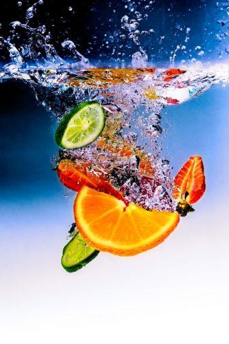 фрукты в воде картинки