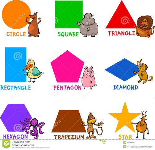 картинки веселых геометрических фигур2