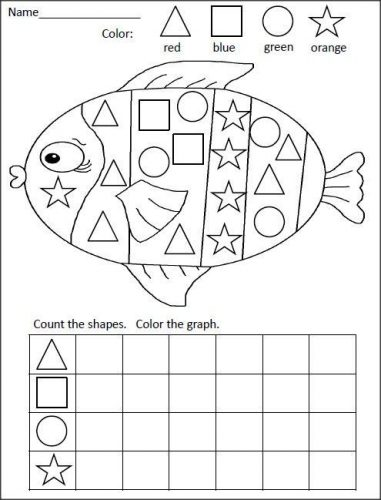 картинки задания по геометрическим фигурам
