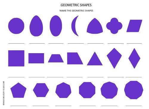 рисунки из геометрических фигур картинки