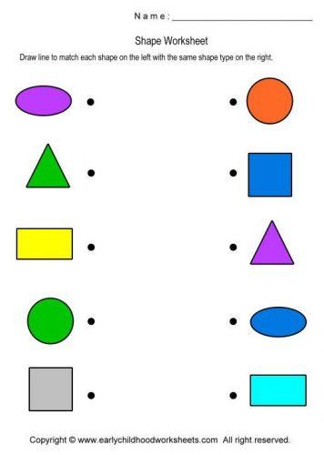 виды геометрических фигур в картинках