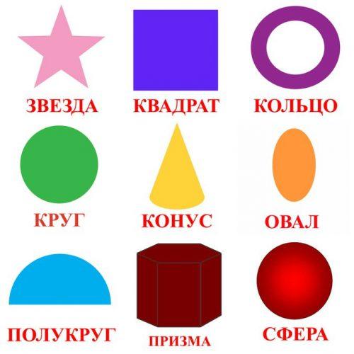 разные геометрические фигуры картинки