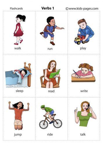 карточки для изучения английских слов