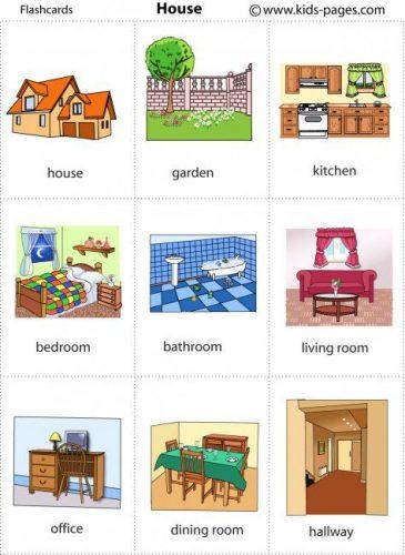 предметы в ванной по английски