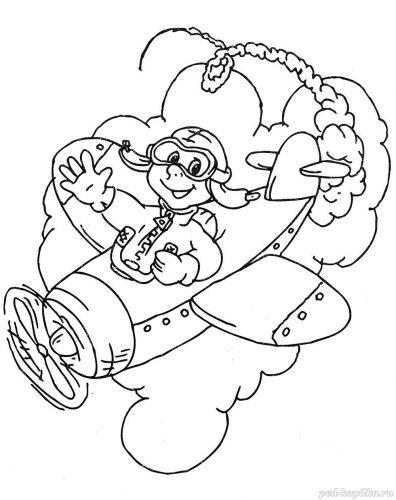 военные раскраски для детей9