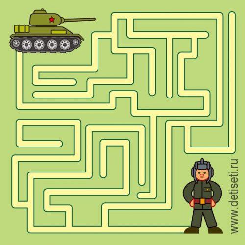 лабиринт танкист