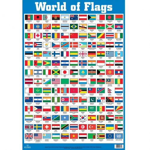 флаги стран мира для детей