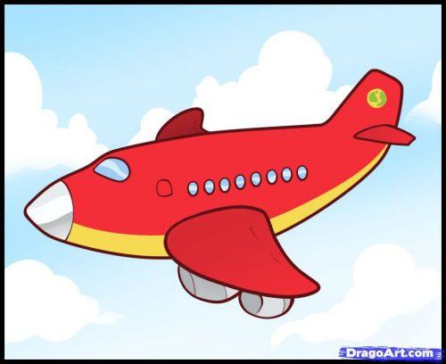 самолет картинки для детей13