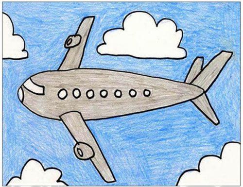самолет картинки для детей6