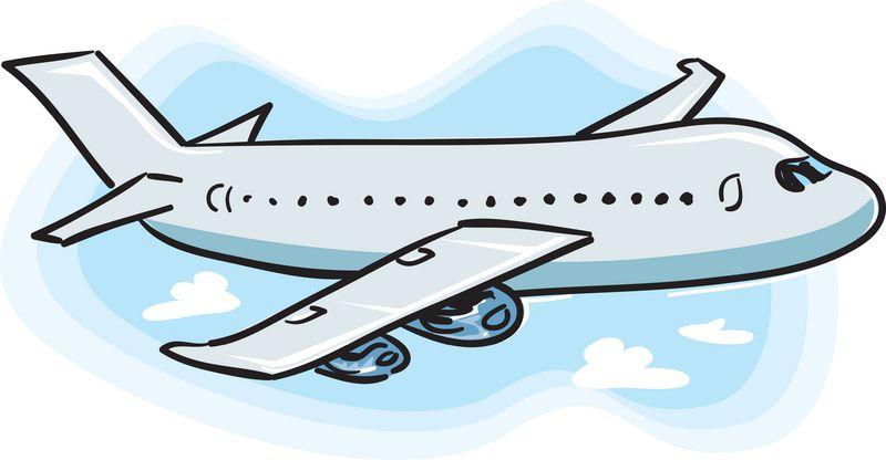 Детские нарисованные самолеты