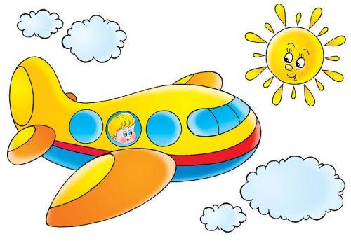 самолет картинки для детей12