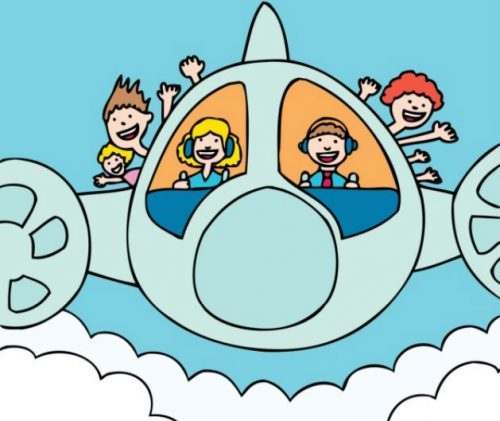 самолет картинки для детей10