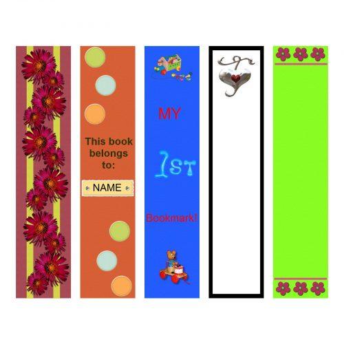 закладки для книг шаблон14