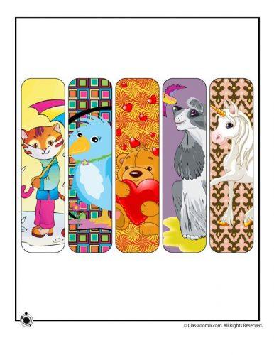 закладки для книг шаблон10