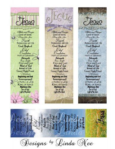 закладки для книг шаблон9