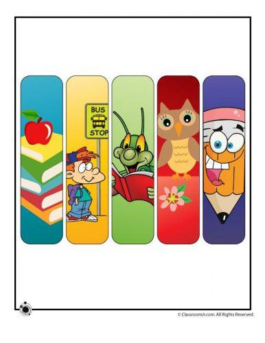 закладки для книг шаблон8