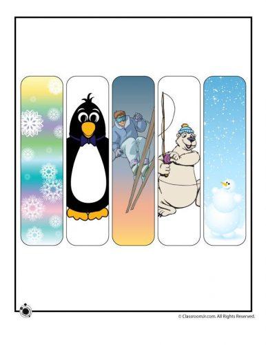 закладки для книг шаблон7