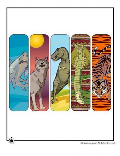 закладки для книг шаблон5