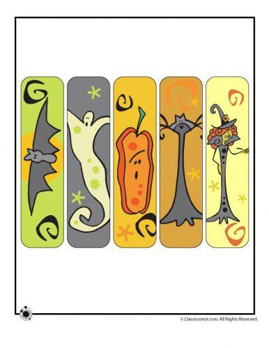 закладки для книг шаблон4