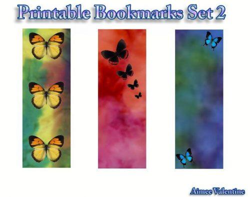 закладки для книг шаблон3