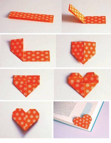 закладка для книг оригами3