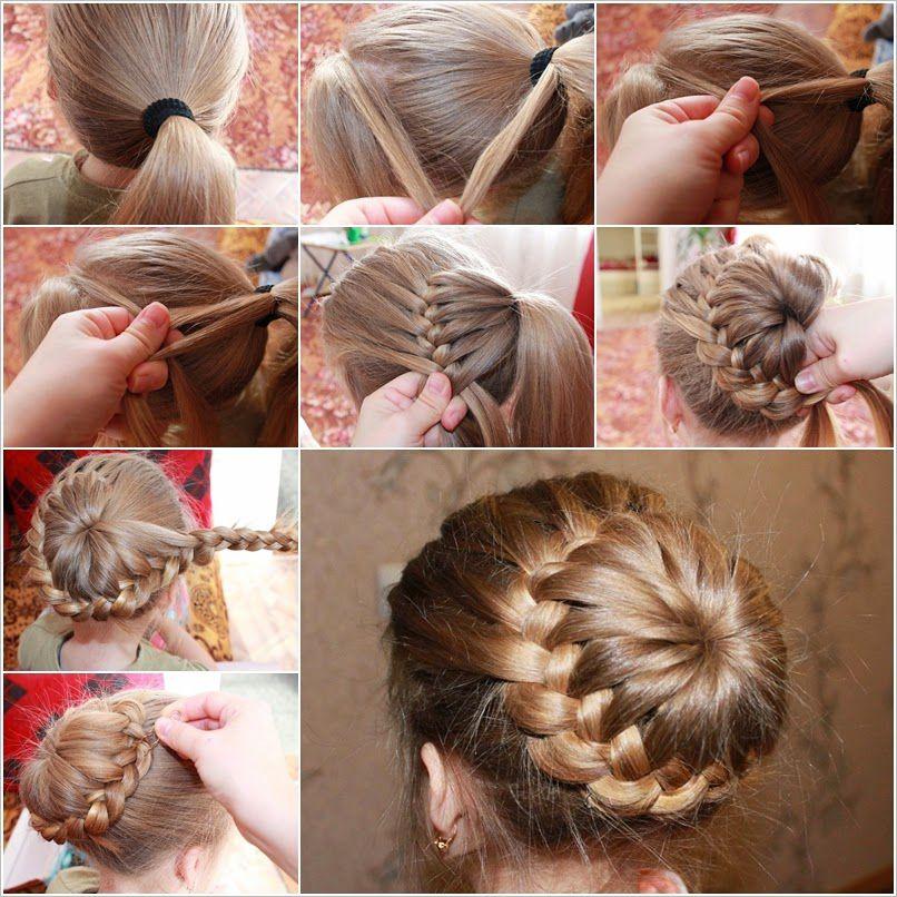 Прически для волос средней длины для ребенка