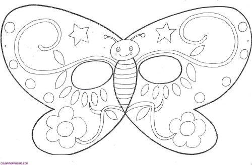 маска бабочка1