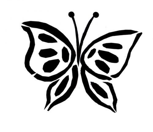 картинки бабочек для вырезания1