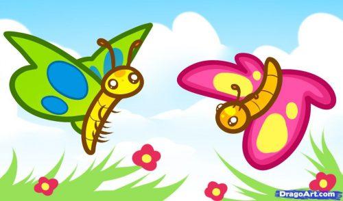 бабочки картинки для детей2