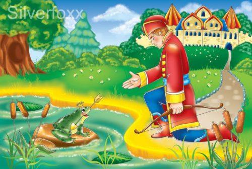 царевна лягушка картинка для детей4