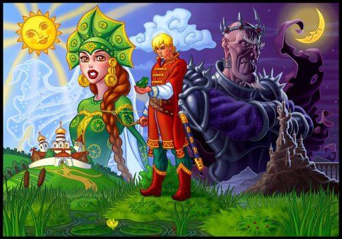 царевна лягушка картинка для детей2