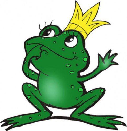 картинка для детей лягушка1