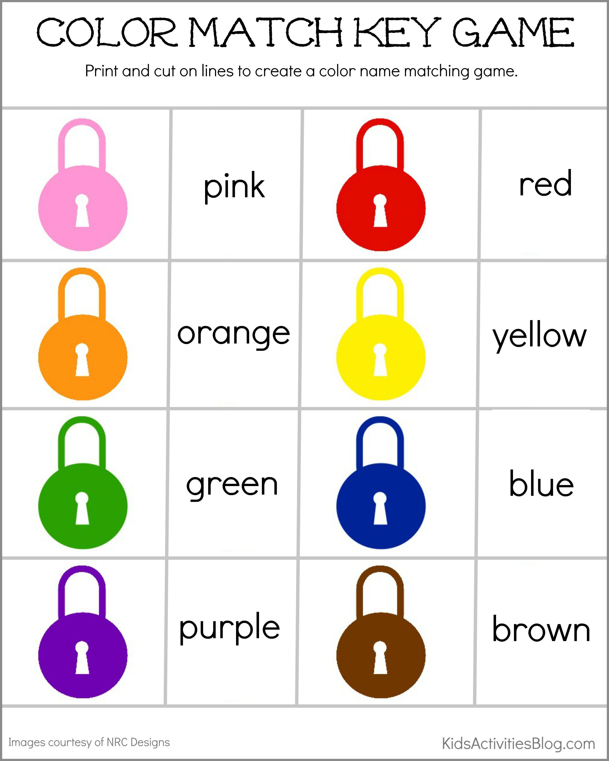 По-английски цвета с транскрипцией