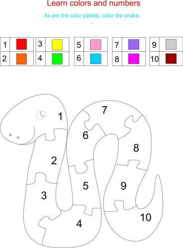 английский язык учим цвета