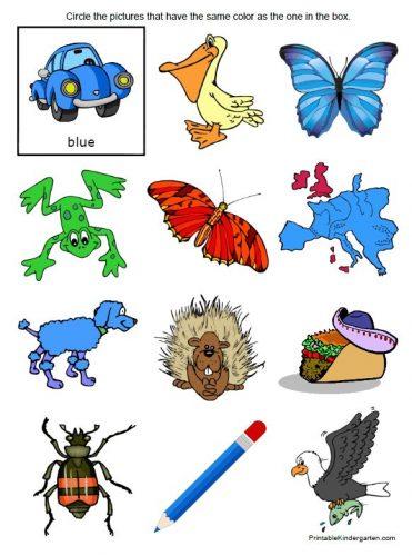 английский язык учим цвета3