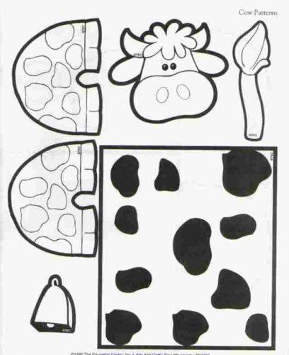 поделка корова2