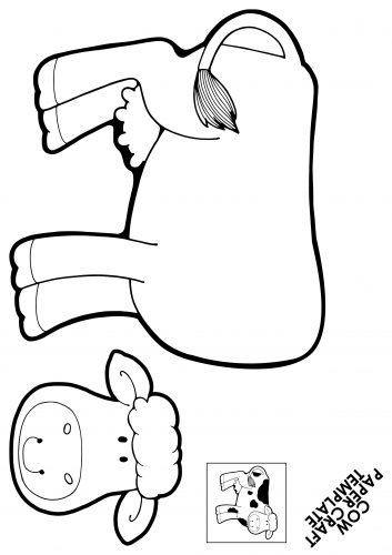 поделка корова1