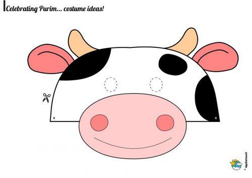 маска коровы для детей3